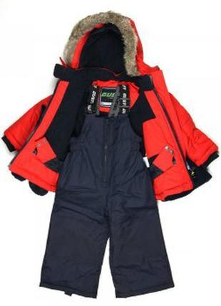 Зимний комплект куртка комбинезон