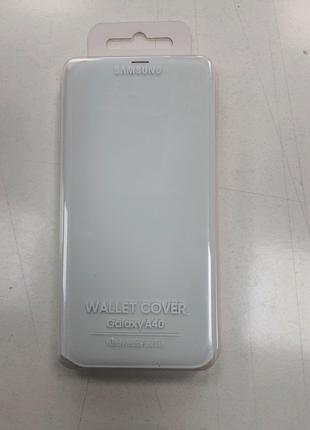 Оригинальный чехол-книжка на Samsung Galaxy A40