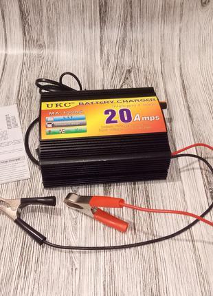 Автомобильное Зарядное Устройство для Аккумуляторов 12V-20A MA-12