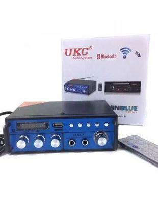 Усилитель звука Bluetooth, караоке,радио SN 666 BT.Мощность 60Wх2
