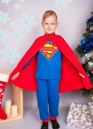 Новогодний костюм Супермена на 3-4 года