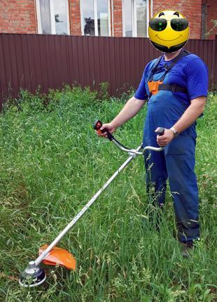 Покос травы, бурьяна от 1м2 - без Посредников