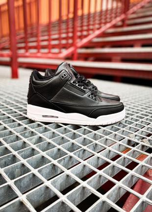 Кроссовки Nike Air Jordan 3 Retro Black
