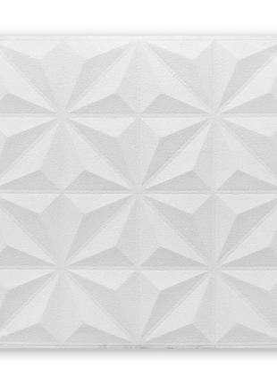 Самоклеющаяся декоративная потолочная 3D панель 700x700x5мм