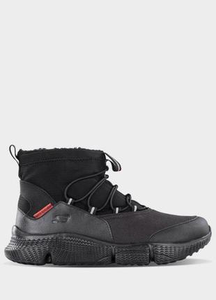 Оригинальные мужские ботинки skechers (999209 bbk)