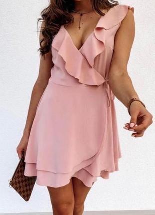 Летнее легкое платье/сарафан на запах