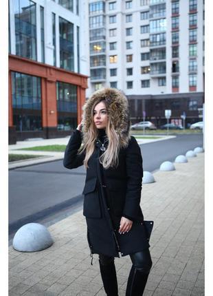 Женский зимний пуховик max mara р. 44-46-48-50