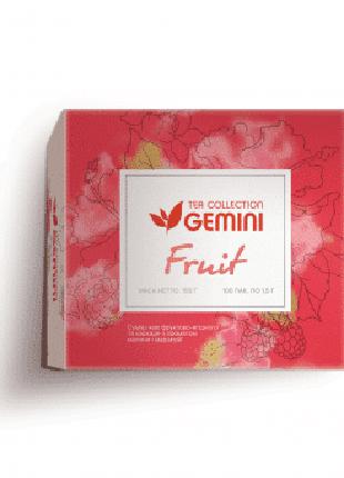 Чай фруктовый Gemini Tea Collection Fruit в пакетиках 100 шт.