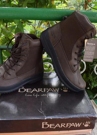 Ботинки утеплённые bearpaw mason waterproof boots