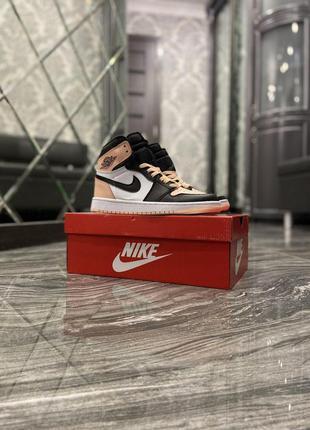 Nike air jordan 1 retro pink black
