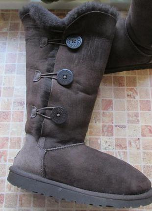 Угги ugg bailey button triplet длина по стельке 25,5 см оригинал