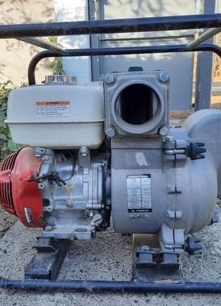 Мотопомпа для грязной воды Honda GX 340, Koshin KTH-100X