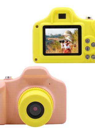 "Детская  фото-видео камера 1.5"" LCD UL-1201  1080P, 5MP Pink"