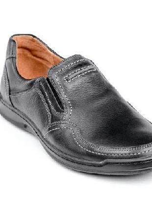 Мужские кожаные туфли Comfort Walk