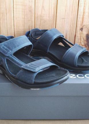 Кожаные удобные стильные сандалии ecco x-trinsic оригинал