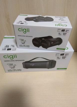 Bluetooth  переносная колонка Cigii F52  S42