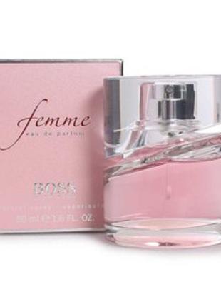 Парфюмированная вода Hugo Boss Femme. Оригинал. Не полный флакон.
