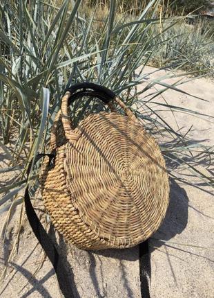 Плетеная сумка ручной работы