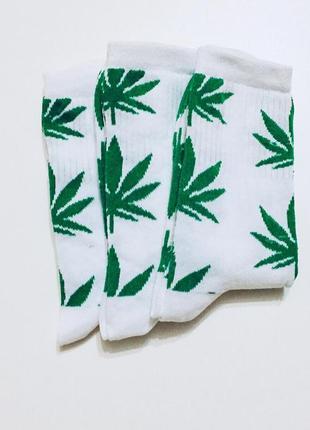 Носки с коноплей высокие