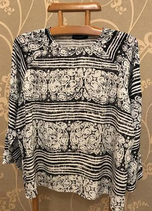 Нереально красивая и стильная брендовая блузка большого размера.