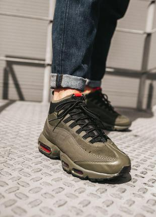 Кроссовки Nike Air Max 95 SneakerBoot Haki
