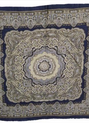 Шикарная шерстяная ультратонкая персидская шаль платок италия ...