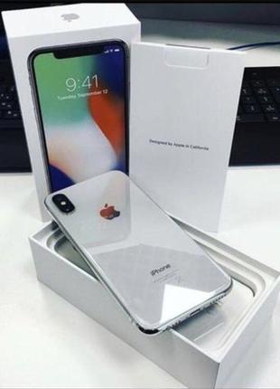 IPhone X 64gb NEVERLOCK (новенький)
