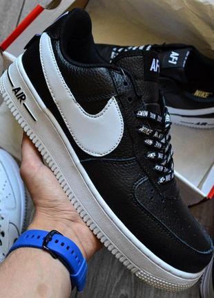 Хайповые кроссовки 💪  nike air force 1 'nba pack' black 💪