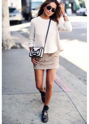 Tommy hilfiger актуальная в этом сезоне вельветовая юбка* цвет...