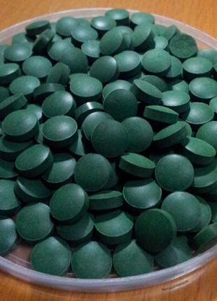 Спирулина 500г таблетированная высокого качества