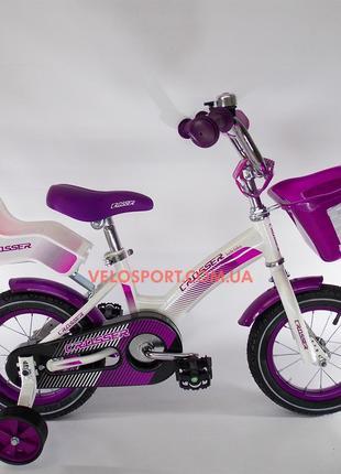 Детский велосипед для девочки Crosser Kids Bike 12 дюймов