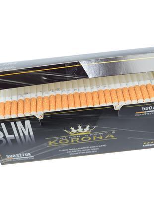 Гильзы 6.5мм Korona Slim 500 для сигарет  слим корона