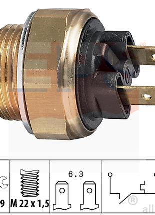 1 850 020 EPS датчик вентилятора радиатора