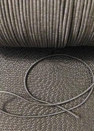 Резинка-канат кругла, 2мм