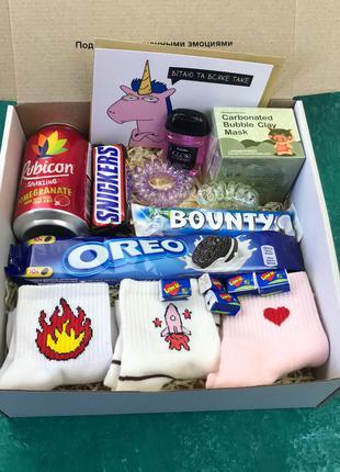 ХИТ!!!Подарочный Набор Бокс для Женщины Сладкий Sweet Бьюти Beaut