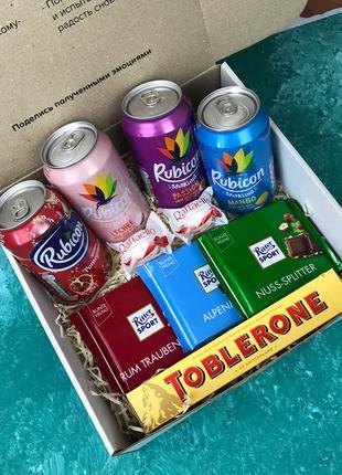 Подарочный Набор Бокс для Женщины Мужчины Сладкий Sweet Box