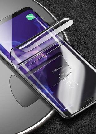 Гидрогелевая пленка для любых iPhone 6/7/8/X/XS/XR/11/12 Plus ...