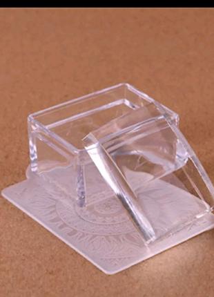 Штамп для стемпинга скребок ногтей маникюра