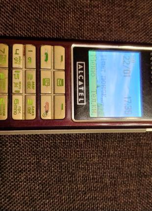 Телефон Alcatel e158x раритет