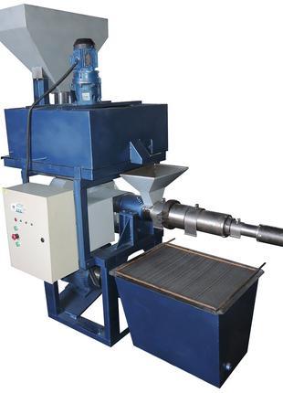 Маслопресс шнековый ММШ-220 (с подогревом сырья) (200-220 кг/час)