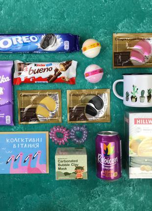 Подарочный Набор Бокс Женщине Сладкий Sweet Box Коллеге Сотрудник