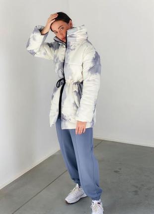 Пуховик зимний, куртка  зимняя