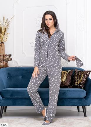 Пижама комбинезон