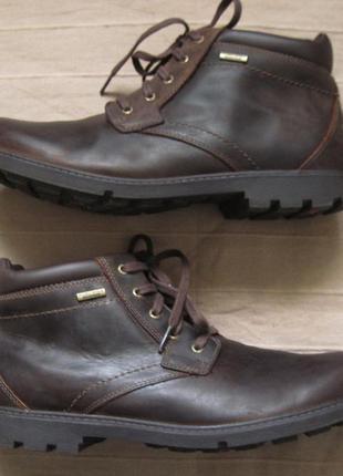 Rockport storm surge plain (46) кожаные мембранные ботинки муж...