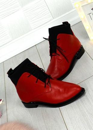 Женские демисезонные ботинки 39 р в наличии, мгновенная отправка