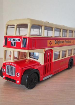 Модель двухэтажный автобус Bristol Lodekka Bus, EFE 1:76