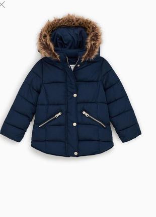 Куртка на девочку зима-еврозима