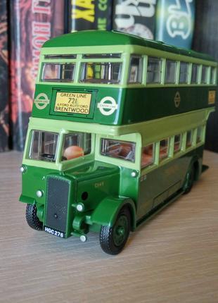 Модель двухэтажного автобуса Daimler Utility Bus Greenline, EFE