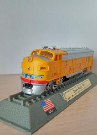 Модель локомотив Del Prado (Испания) Union Pacific Fp-7 - USA