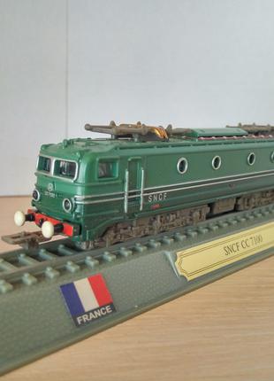 Модель локомотив Del Prado (Испания) SNCF CC 7100 - France, 1:160